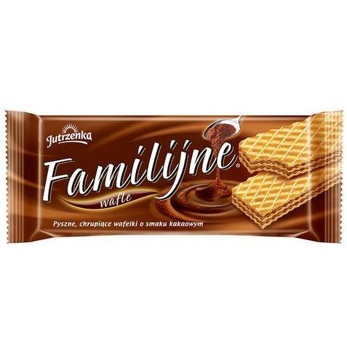 Wafle familijne o smaku kakaowym 180 g marki Jutrzenka
