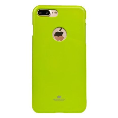 Mercury Etui nakładka goospery jelly case do apple iphone 7 plus / iphone 8 plus limonka - limonka (zielony)