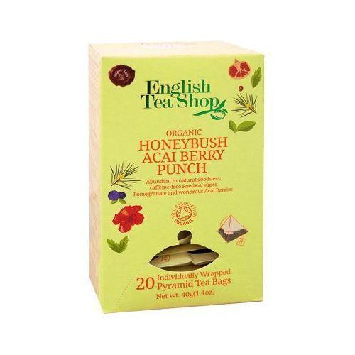 ETS Organic Honeybush Acai Berry Punch 20 piramidek, 3813