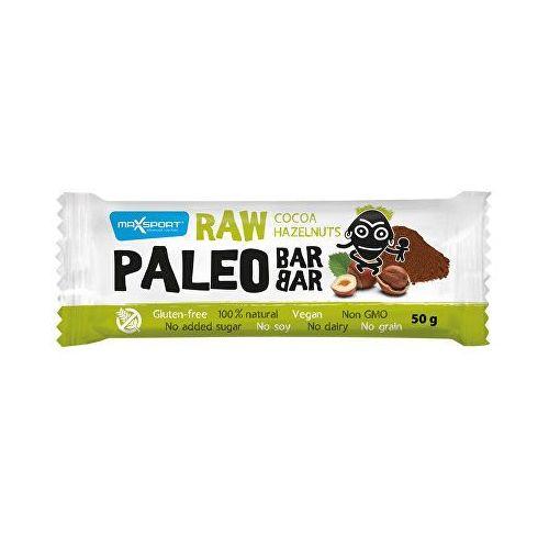 MaxSport Raw Paleo Baton z orzechami laskowymi i kakao 50 g (8586008108310)