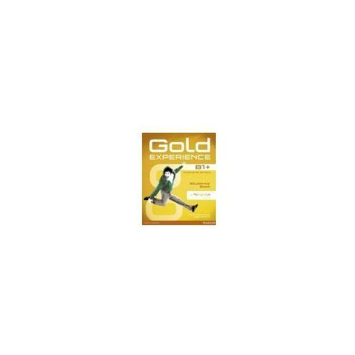 Gold Experience B1+. Podręcznik + DVD-ROM + MyEnglishLab (176 str.)