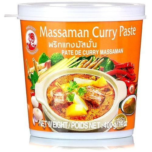 Cock brand Pasta curry massaman 400g -