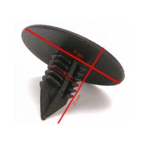 Kołek Spinka Samochodowa 10mm zderzaków tapicerek nadkoli osłon podwozia, spin10mm