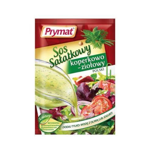Prymat 9g sos sałatkowy koperkowo-ziołowy polski