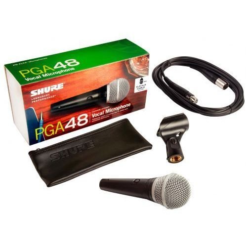 pga48 xlr mikrofon dynamiczny marki Shure