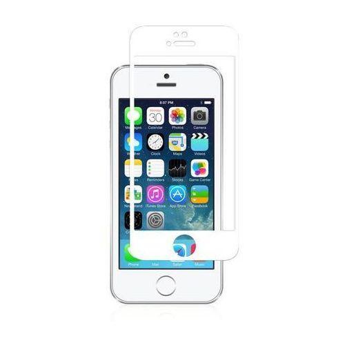 Moshi ivisor glass - szkło ochronne ionglass na ekran do iphone se / iphone 5s / iphone 5c / iphone 5 (biała ramka) (4712052316324)