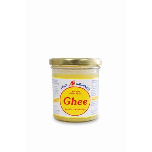 Masło klarowane bio - 220g marki Finck ayurveda