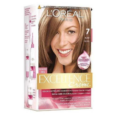 L'OREAL Excellence Creme farba do wlosow 7 Blond, produkt marki L'oreal