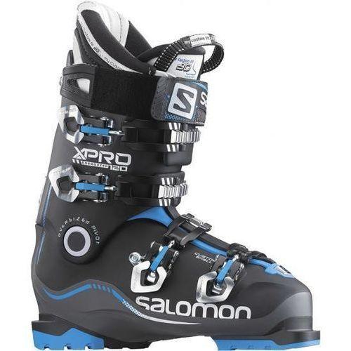 Buty Narciarskie Salomon X PRO 120 Anthracite/Black/Blue 378149