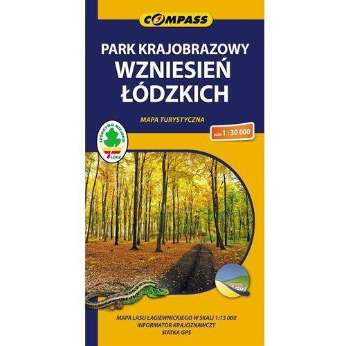 Park Krajobrazowy Wzniesień Łódzkich. Mapa turystyczna w skali 1:30 000 (2013)