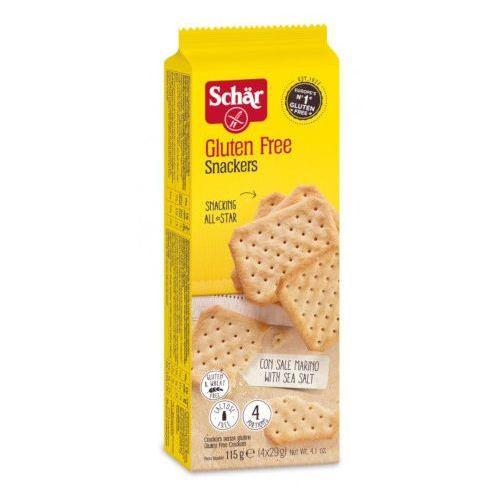 Schar Snackers - krakersy bezglutenowe 115g