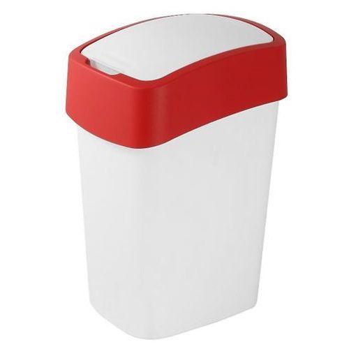 Kosz do segregacji śmieci FLIP BIN 50l czerwony - produkt dostępny w OLE.PL Profesjonalne Rozwiązania Higieniczne