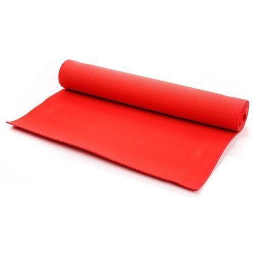 Mata do ćwiczeń fitness METEOR - RED 173x61x0,5cm - Czerwony