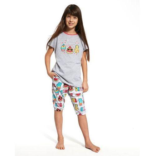 e5a12c9dcc656d Piżama Cornette Kids Gil 080/59 Hello Summer kr/r 86-128 110-116, szary  melange, Cornette 59,30 zł Piżamka dziewczęca z wysokiej jakości niezwykle  miłej i ...