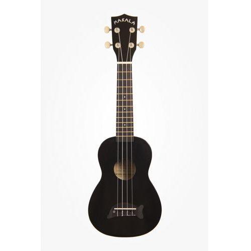 Kala makala ukulele sopranowe charcoal black sparkle + non woven bag