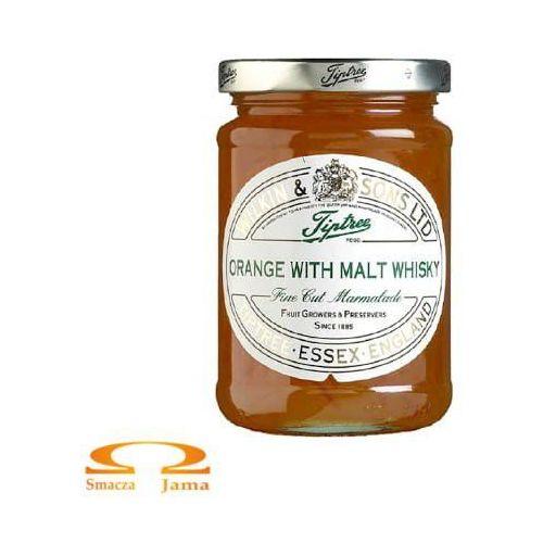 Wilkin & sons Konfitura pomarańczowa z whisky słodową 340g