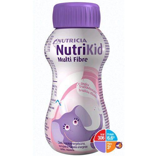 nutrikid multi fibre - truskawka - 200ml marki Nutricia