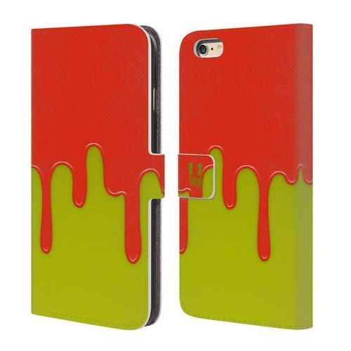 Etui portfel na telefon - Colour Block Meltdown ORANGE LIME