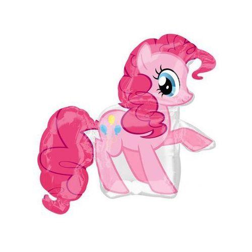 Balon foliowy my little pony - pinkie pie - 76 x 83 cm - 1 szt. marki Amscan