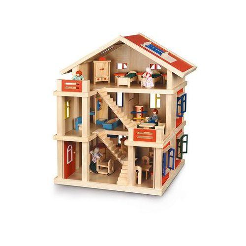 Domek dla lalek z akcesoriami, Bayer Chic z LIMANGO
