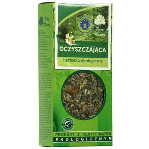 Oczyszczająca herbatka z pokrzywą, czernicą, jarzębiną, karczochem