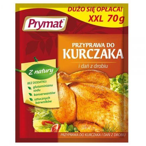 Przyprawa do kurczaka i dań z drobiu xxl 70 g marki Prymat