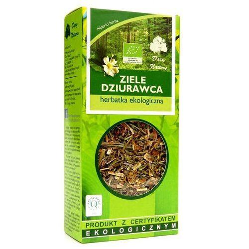 Dary natury - herbatki bio Herbatka z ziela dziurawca bio 50 g - dary natury