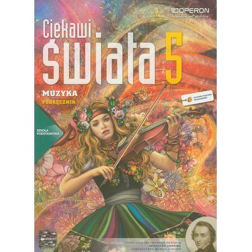 Ciekawi świata Muzyka 5 podręcznik (120 str.)