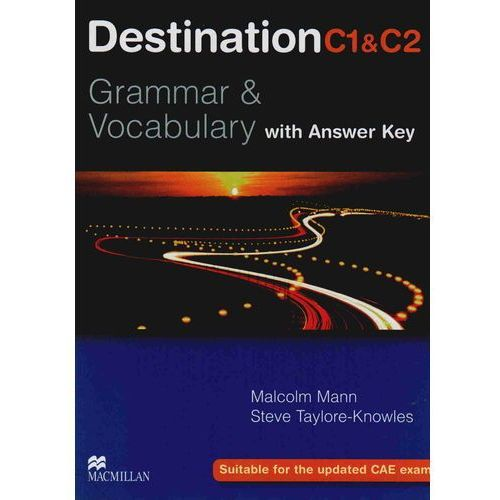 Destination C1&C2 Grammar & Vocabulary Student's Book (podręcznik) with Key (312 str.)