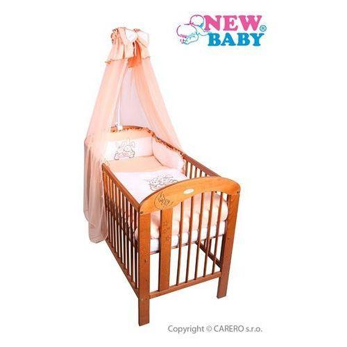 7-częściowy zestaw pościeli do łóżeczka New Baby Bunnies 100/135 pomarańczowy