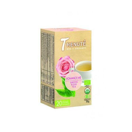 T'renute (herbaty) Herbata zielona różana romance me bio 30 g (1,5 g x 20 szt.) - t'renute