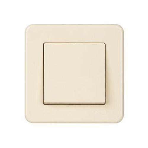 Przycisk leona kremowy marki Schneider electric