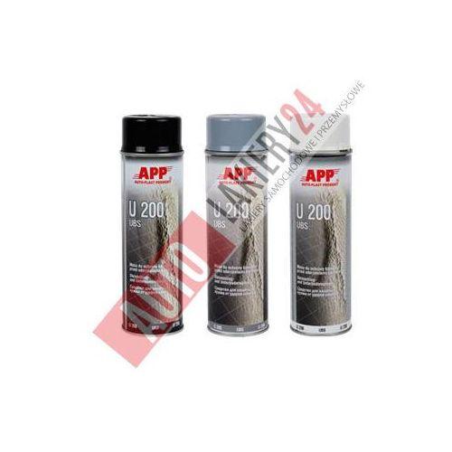 APP Preparat do ochrony karoserii spray U200 0,5L czarny - produkt dostępny w Autolakiery24