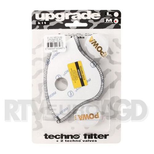 Respro Upgrade Kit Powa Elite rozmiar L (złoty), RUK03 WH/G#L