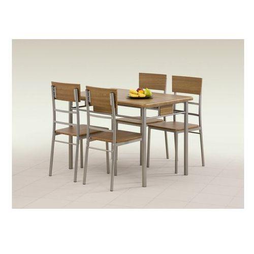 Zestaw HALMAR NATAN stół + 4 krzesła, marki Halmar do zakupu w ErgoExpert.pl