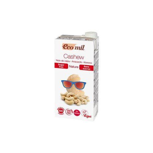 Napój, mleko z orzechów nerkowca niesłodzony bio 1 litr marki Ecomil