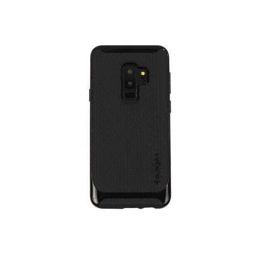 Samsung Galaxy S9 Plus - etui na telefon Spigen Neo Hybrid - Shiny Black, kolor czarny