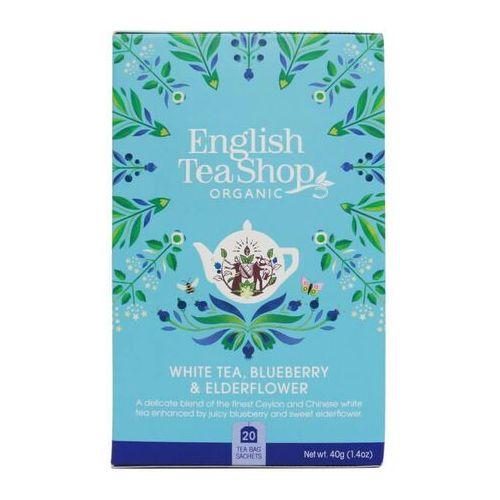 Biała herbata z dzikim bzem i borówką 20x2 g bio 40 g p marki English tea sho