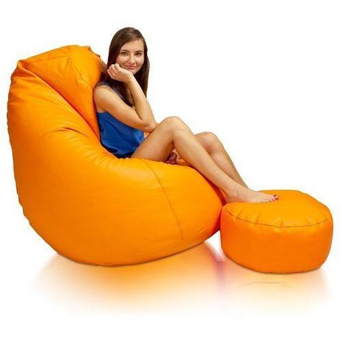 Polskie pufy Pufa, fotel komfort xxxl, podnóżek gratis. zimowa promocja!