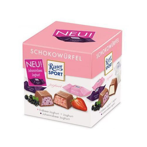 Mieszanka nadziewanych czekoladek jogurtowych Ritter Sport 176 g (4000417650702)