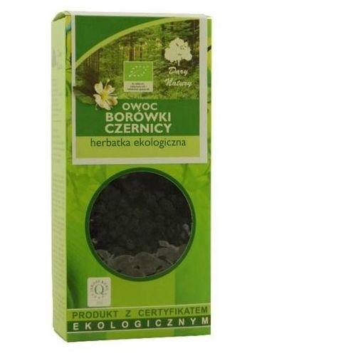 Dary natury - herbatki bio Herbatka owoc borówki czernicy bio 100 g - dary natury