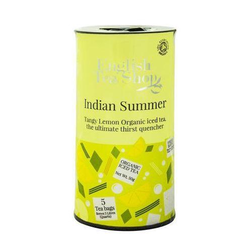 Ets indian summer herbata mrożona 5 saszetek marki English tea shop