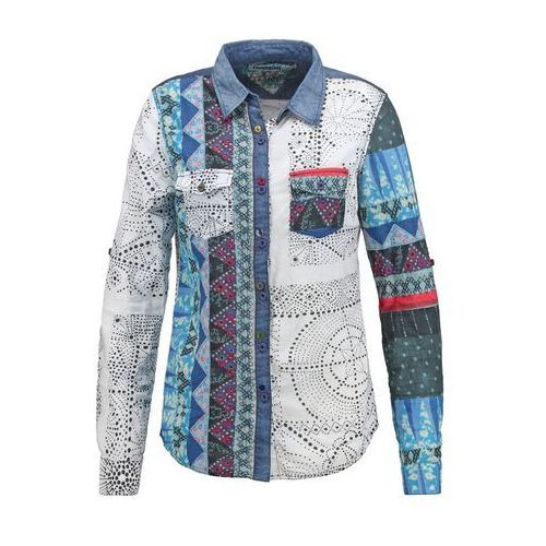 Desigual MARTE Koszula light gray (koszula damska) od Zalando.pl