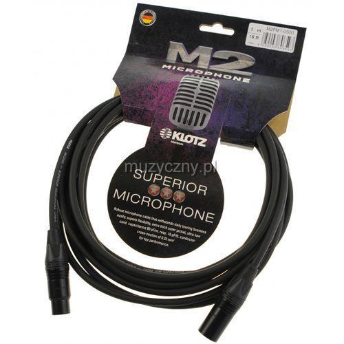 m2fm1 0500 przewód mikrofonowy xlr-f - xlr-m 5m marki Klotz