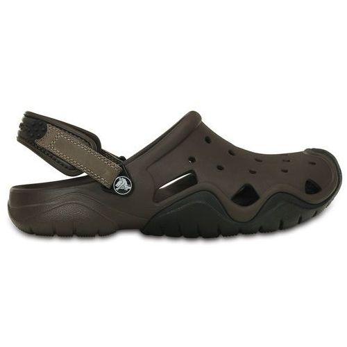 Crocs Swiftwater Sandały Mężczyźni brązowy 45-46 2018 Sandały codzienne (0887350467529)