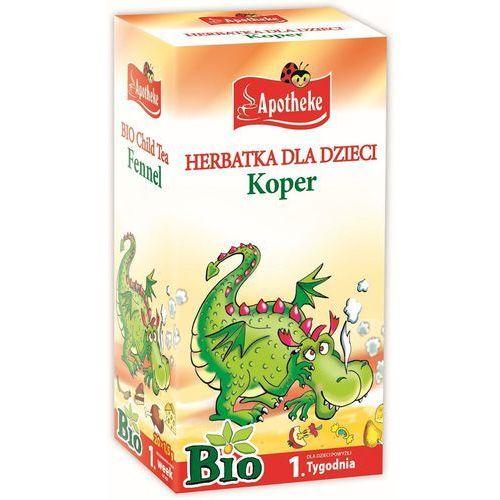 Apotheke Herbatka dla dzieci - koper bio 20 x 1,5 g - (8595178206030)