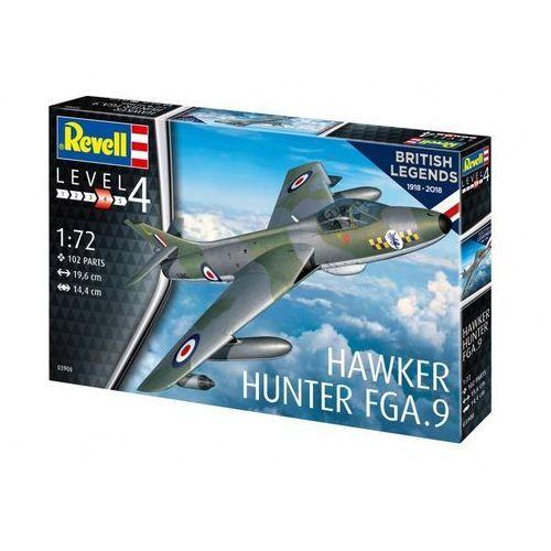 Revell Model plastikowy hawker hunter fga 9 - darmowa dostawa od 199 zł!!! (4009803894140)