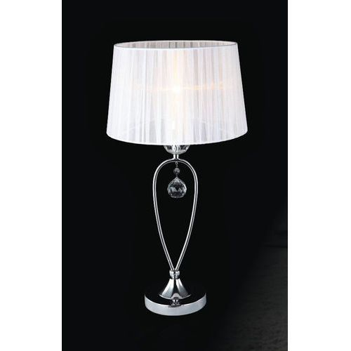 Lampa stołowa vivien mtm1637-1w 1x40w e14 biała marki Italux