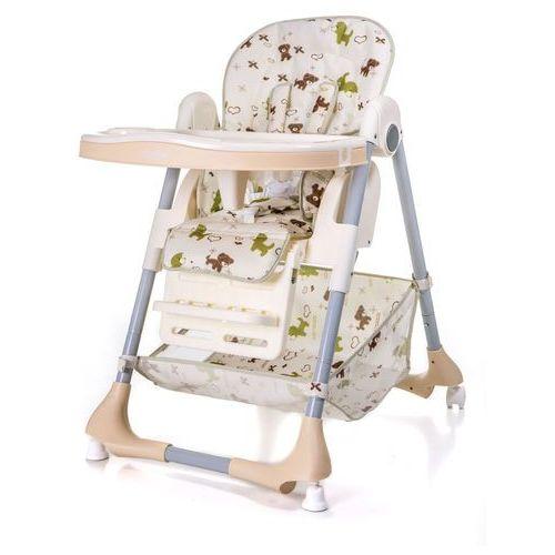Krzesełko do karmienia ace 1015 pieski (beż) marki Moolino
