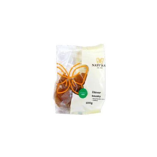 Imbir suszony bez cukru 100g NATURAL, 8595617900147